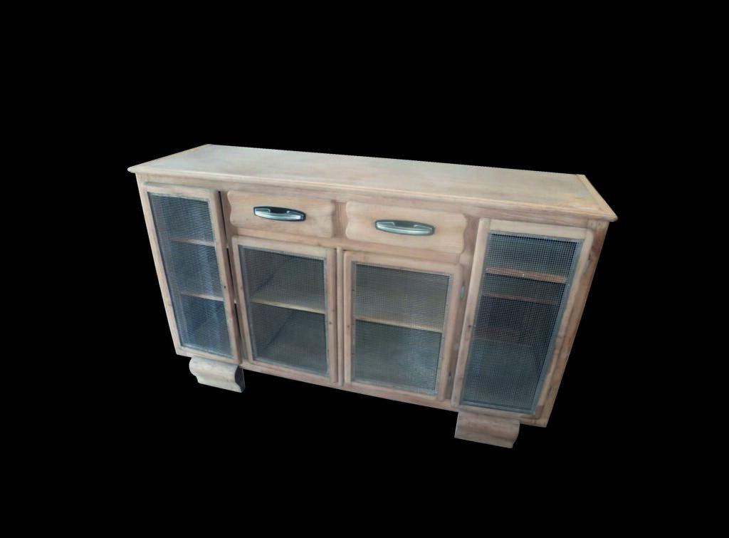 décapage d' un meuble 4 portes, 2 tiroirs