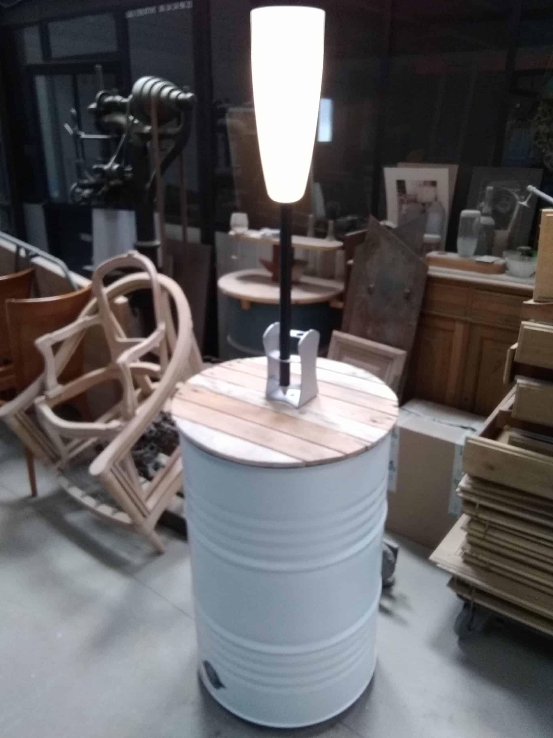 La lampe autonome Paranocta adaptable sur votre baril.